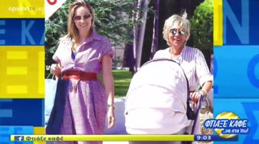 Ελεονώρα Μελέτη: Βόλτα για αγορές με τη μητέρα και τη νεογέννητη κόρη της!