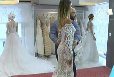 Αθηνά Χρυσαντίδου: Έκανε... πρόβα νυφικού on camera και αποκάλυψε αν θα παντρευτεί με τον Δώρο Παναγίδη!