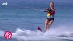 Η Φαίη Σκορδά δάμασε τα κύματα κάνοντας θαλάσσιο σκι στην έναρξη του Πρωινού!