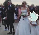 Έλενα Ασημακοπούλου - Μπρούνο Τσιρίλο: Τα πρώτα πλάνα από τον θρησκευτικό γάμο τους!