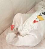 Γέννησε πριν εννέα μέρες και αυτή είναι η πρώτη φωτογραφία της νεογέννητης κόρης της!