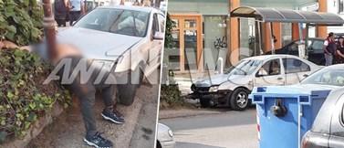 Αυτοκίνητο έπεσε σε στάση λεωφορείου στη Μεταμόρφωση - Ένας άνδρας έχασε τη ζωή του