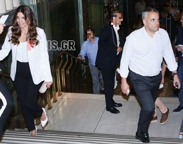 Πόπη Τσαπανίδου - Νίκος Ιατρού: Σπάνια δημόσια έξοδος για το ζευγάρι!