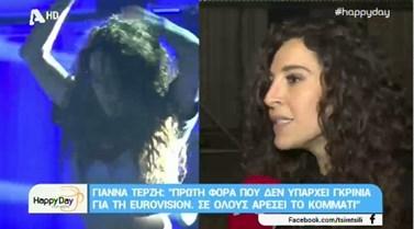 Eurovision 2018: Όλες οι λεπτομέρειες για την εμφάνιση της Γιάννας Τερζή στη σκηνή του μουσικού διαγωνισμού