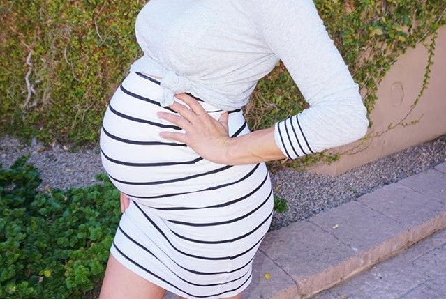 Μια ανάσα πριν τον τοκετό έκανε baby shower