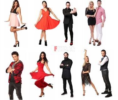 Dancing with the Stars: Έτσι χωρίστηκαν τα ζευγάρια για τις ομαδικές χορογραφίες του 9ου live!