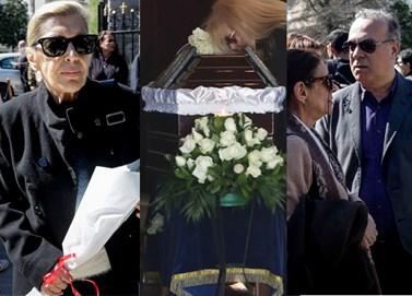 Συγκίνηση στην κηδεία του Χρήστου Σιμαρδάνη