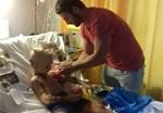 Η συγκινητική κίνηση ανθρωπιάς του Γιώργου Αγγελόπουλου: Πήγε στο νοσοκομείο για να δει άρρωστο παιδάκι!