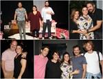 Λαμπερές παρουσίες στην πρεμιέρα της παράστασης Ουρανία με τη Δανάη Μπάρκα!