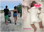 Ο νέος μπαμπάς της ελληνικής showbiz φωτογραφίζει την 2,5 μηνών κορούλα του