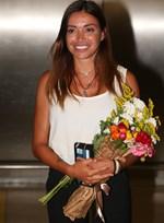 Η Όλγα Φαρμάκη επέστρεψε στην Ελλάδα - Οι πρώτες φωτογραφίες!