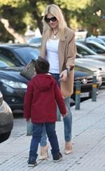 Φαίη Σκορδά: Η τρυφερή φωτογραφία δια χειρός του γιου της, Γιάννη