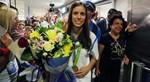 Θερμή υποδοχή στην Ελλάδα για την χρυσή Κατερίνα Στεφανίδη! - Φωτογραφίες