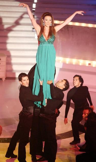 Η Τατιάνα Στεφανίδου σε ρόλο guest κριτή στο Dancing with the Stars!