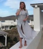 Τατιάνα Στεφανίδου: Διήμερο στις Σπέτσες για την παρουσιάστρια - Δείτε πώς περνάει