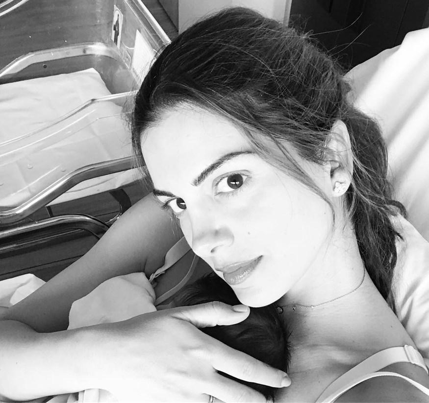 Σταματίνα Τσιμτσιλή: Η συγκινητική φωτογραφία από την πρώτη της γέννα και η δημόσια εξομολόγηση
