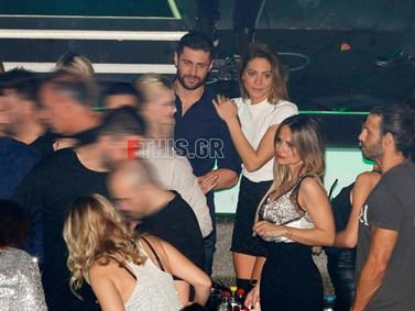 Ευρυδίκη Βαλαβάνη - Κωνσταντίνος Βασάλος: Full in love σε νέα νυχτερινή τους έξοδο!