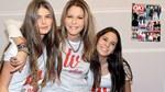 Τζένη Μπαλατσινού: Αγκαλιά με τις κόρες της, Αμαλία και Αλεξάνδρα